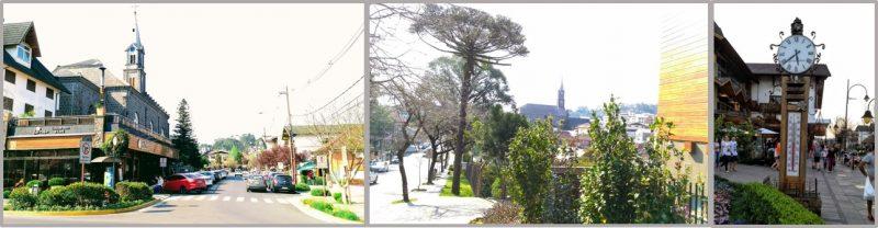 O domingo foi ensolarado e quente em Gramado.